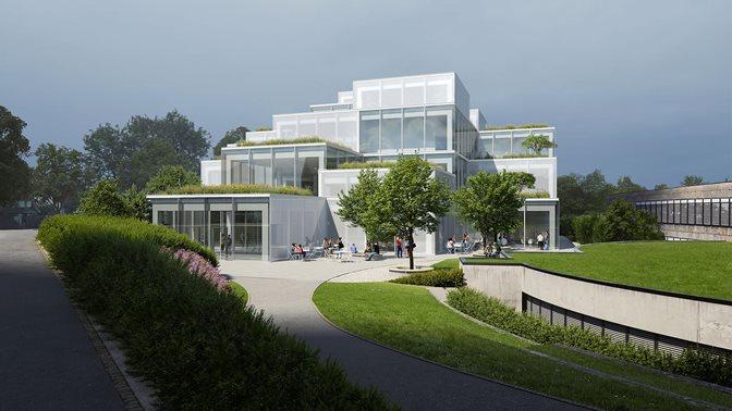Visualisation HSG Learning Center