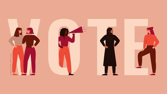 Focus on 50 years of women's suffrage in Switzerland